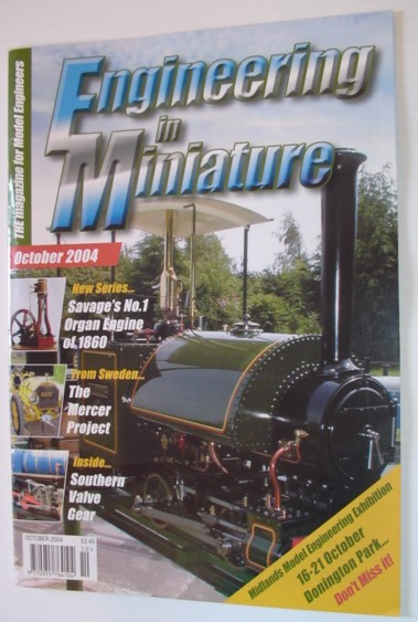 Image for Engineering in Miniature - The Magazine for Model Engineers: October 2004