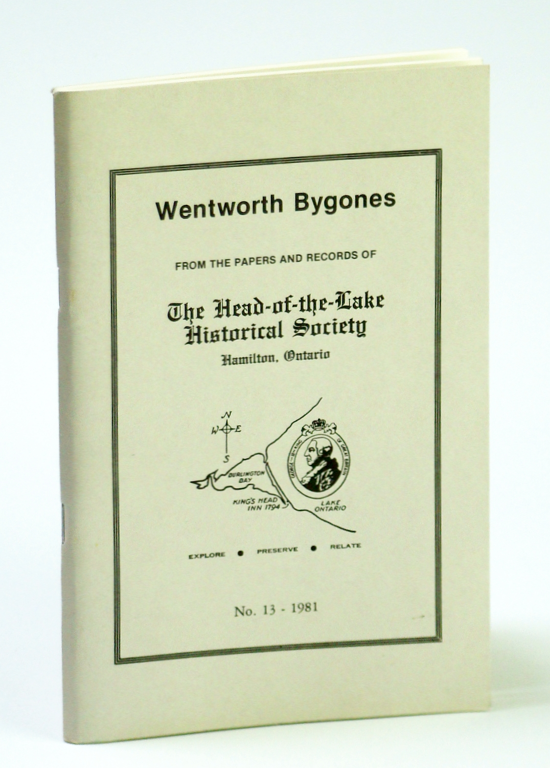 Image for Wentworth Bygones: From the Papers and Records of The Head-of-the-Lake Historical Society, No. 13 (Thirteen) 1981