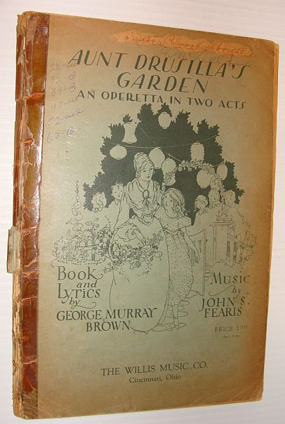 Image for Aunt Drusilla's Garden - An Operetta in Two Acts