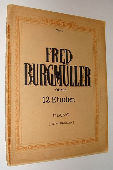 Image for Fred Burgmuller Op. 105 - 12 Etuden - Piano - No. 149