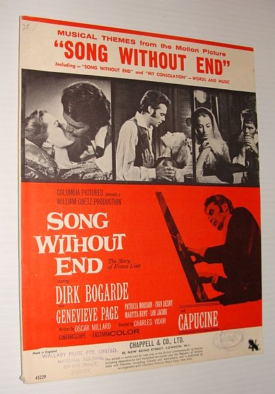 "Image for Musical Themes from the Motion Picture ""Song Without End"" (The Story of Franz Liszt)"
