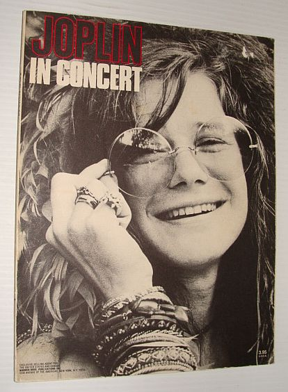 Image for (Janice) Joplin in Concert - Songbook with Lyrics, Music and Guitar Chords