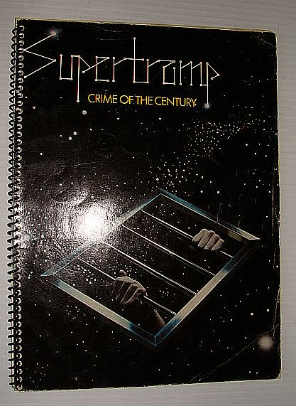 Image for Supertramp - Crime of the Century: Songbook Complete with Lyrics, Music and Guitar Chords