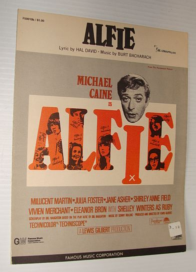 Image for Alfie - Sheet Music