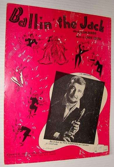 Image for Ballin' the Jack -  Sheet Music