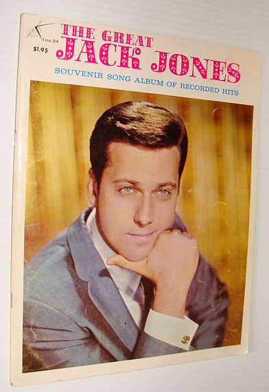 Image for The Great Jack Jones: Souvenir Song Album of Recorded Hits