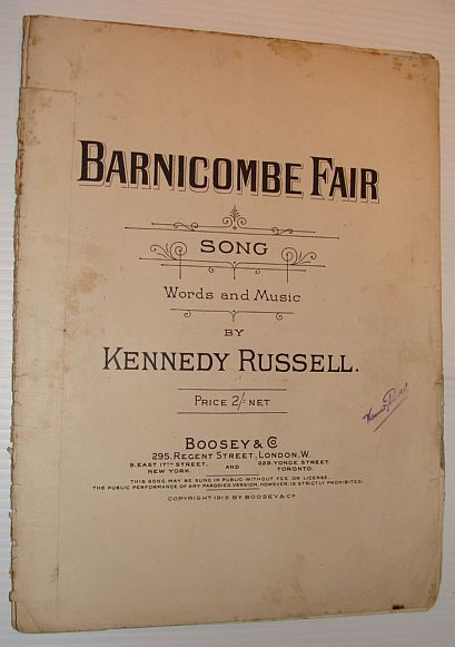 Image for Barnicombe Fair - Sheet Music