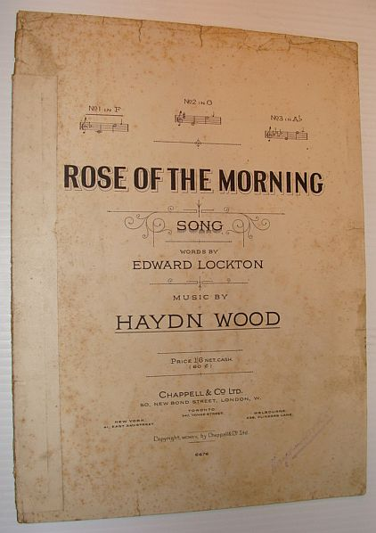 Image for Rose of the Morning - Sheet Music