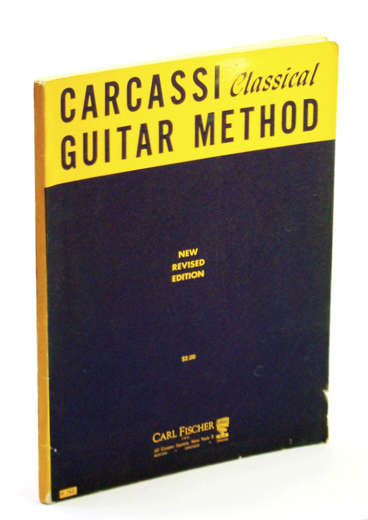 Image for Carcassi Classical Guitar Method
