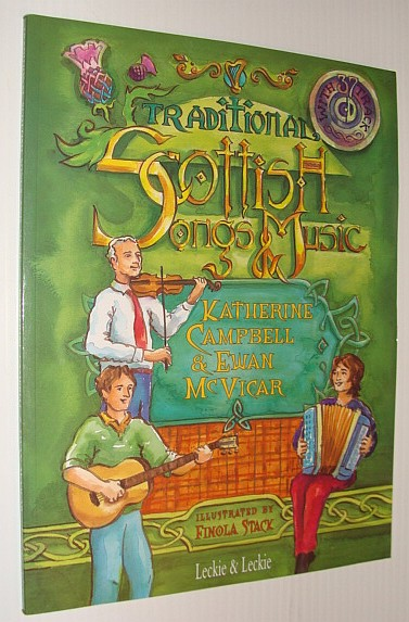 Image for Traditional Scottish Songs and Music (with CD)