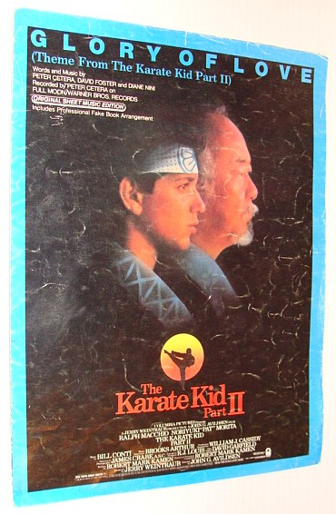 Image for Glory of Love - Theme from The Karate Kid, Part II (Two/2) - Original Sheet Music Edition