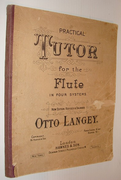 Image for Practical Tutor for the Flute in Four Systems