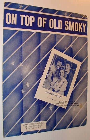Image for On Top of Old Smoky - Sheet Music