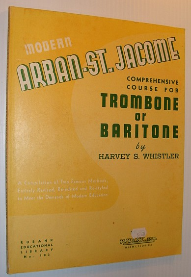Image for Modern Arban-St. Jacome Comprehensive Course for Trombone or Baritone - Ruband Educational Library No. 102