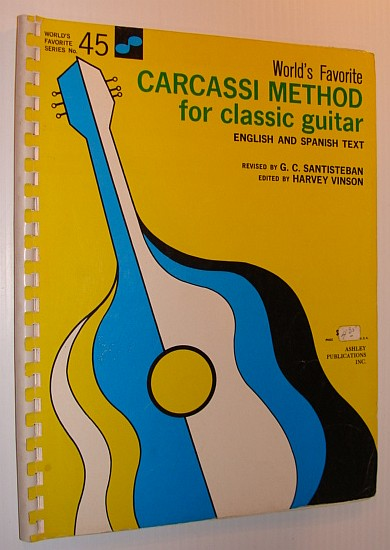 Image for World's Favorite Carcassi Method for Classic Guitar: English and Spanish Text - World's Favorite Series No. 45