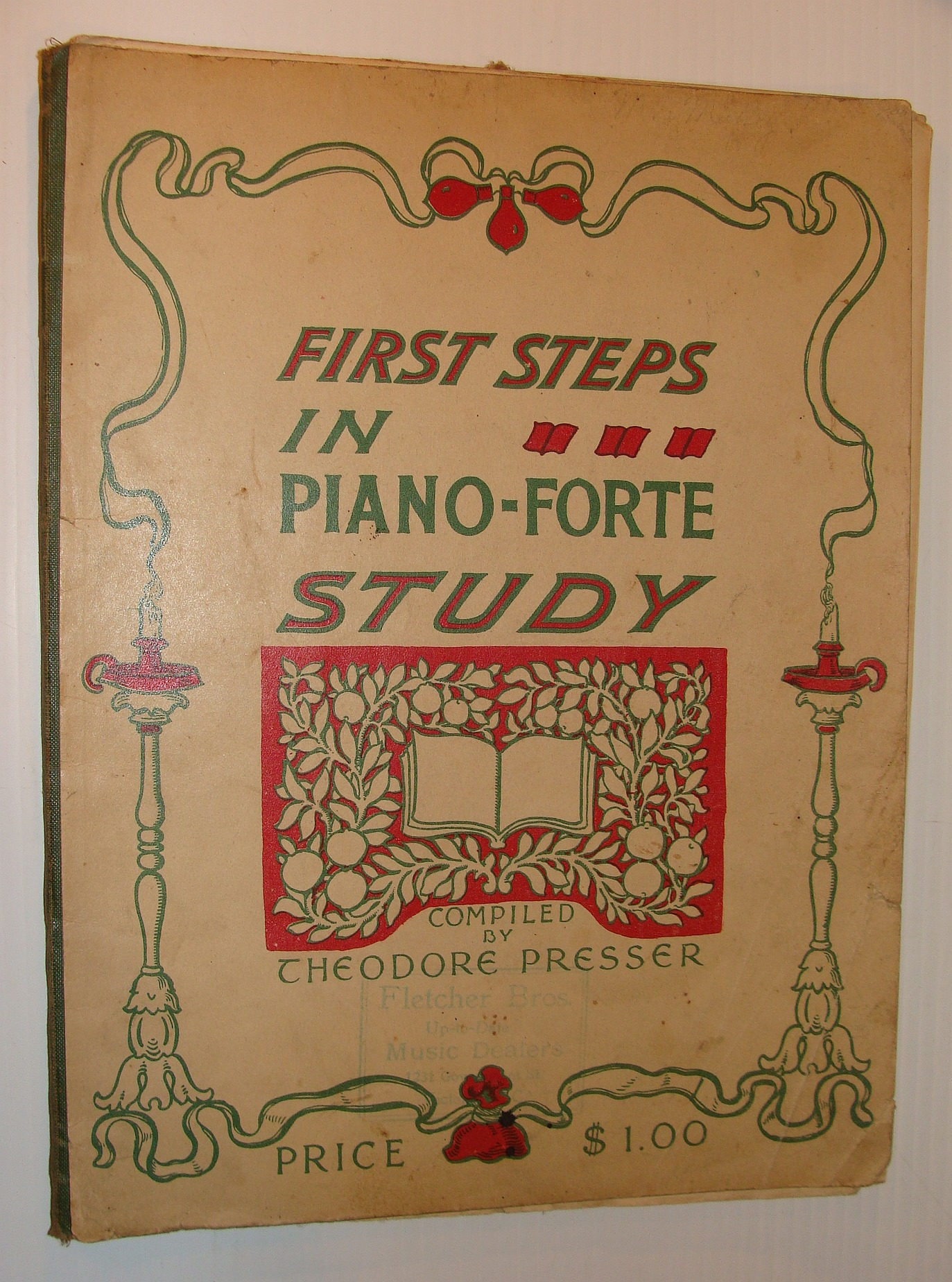 Image for First Steps In Piano-Forte Study - A Concise, Practical and Melodious Introduction to the Study of Piano Playing