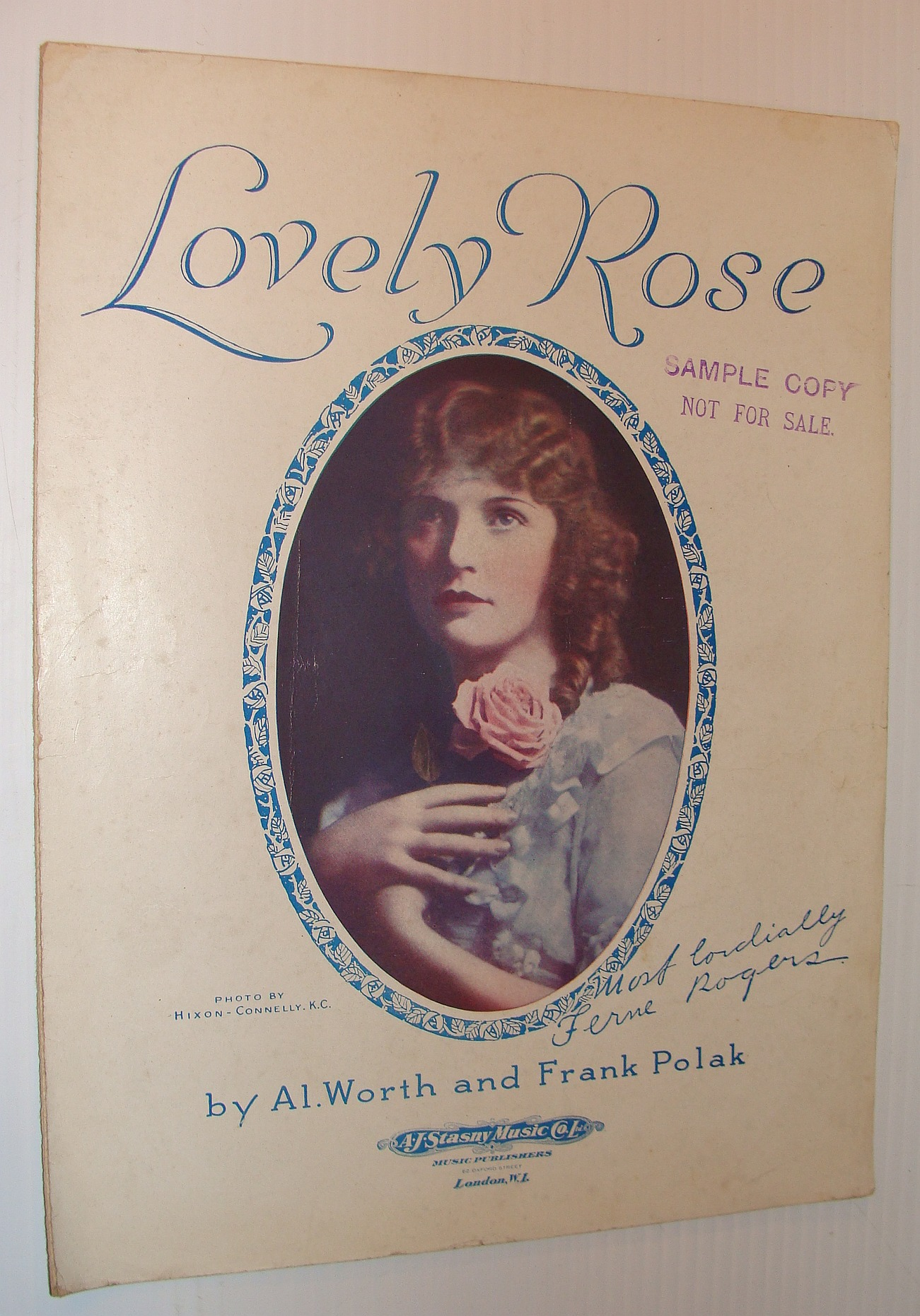 Image for Lovely Rose: Sheet Music for Piano and Voice