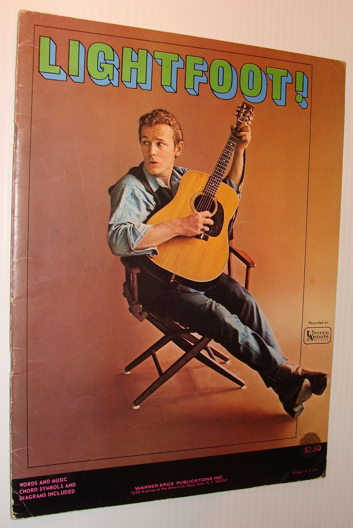 Image for Lightfoot!: Original Gordon Lightfoot Songbook - Words and Music, Chord Symbols and Diagrams Included