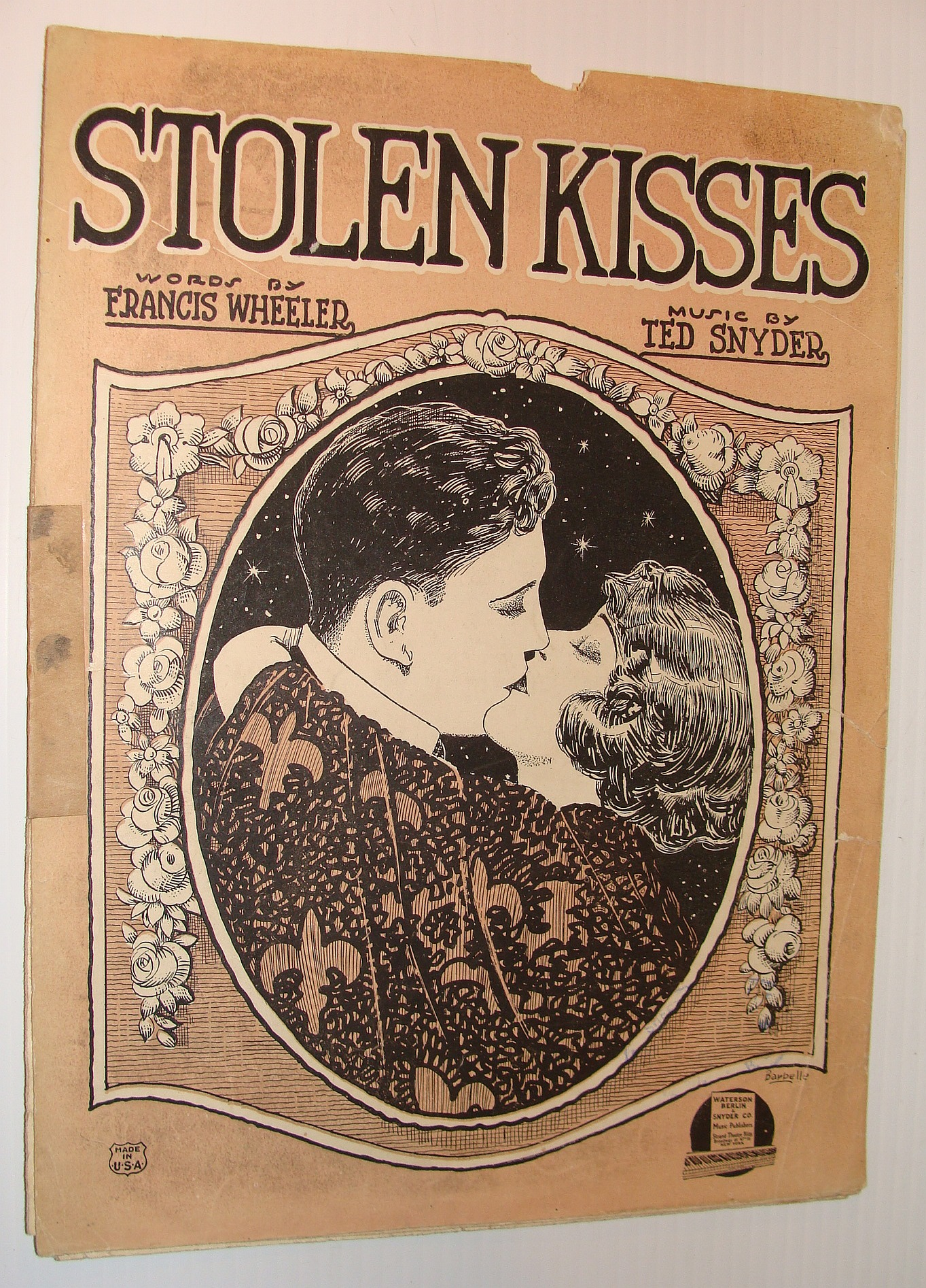 Image for Stolen Kisses - Sheet Music