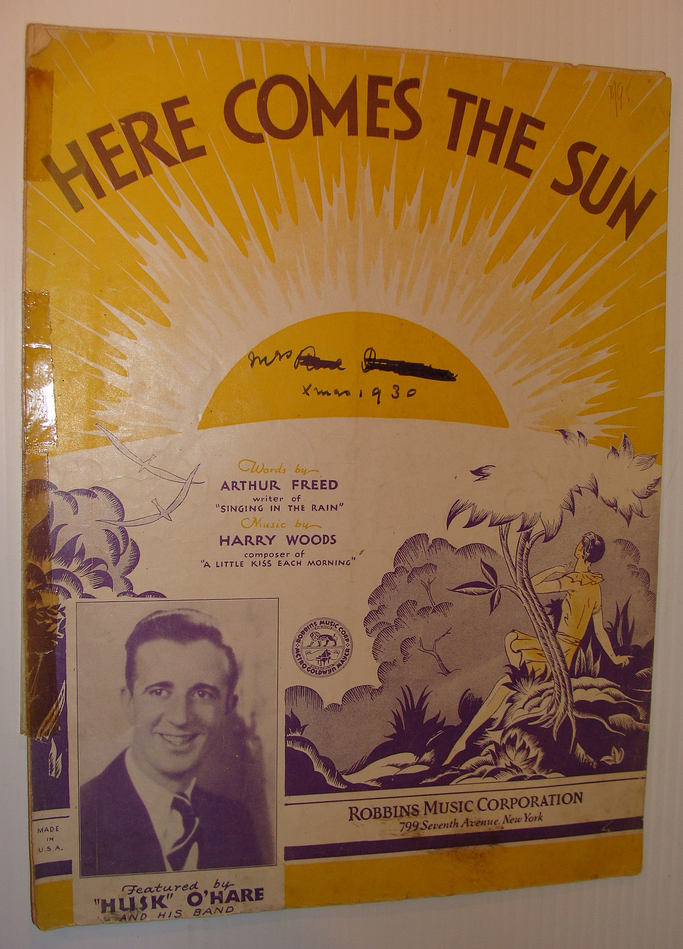 Image for Here Comes the Sun - Sheet Music