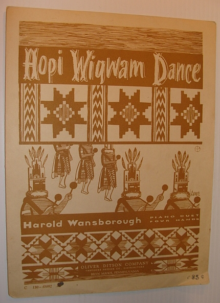 Image for Hopi Wigwam Dance: Piano Duet for Four Hands