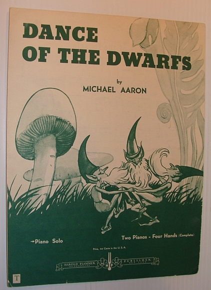 Image for Dance of the Dwarfs: Sheet Music for Piano