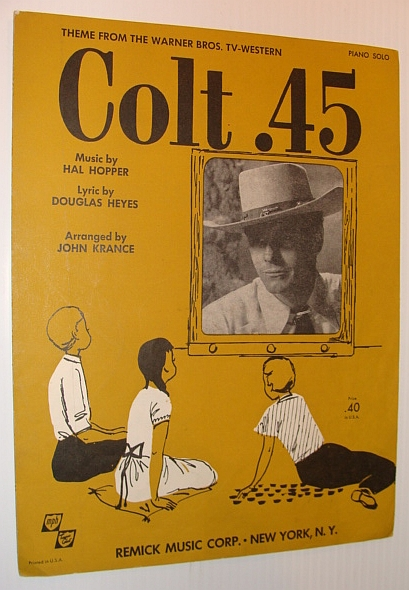 Image for Colt .45 - Theme from the Warner Bros. TV-Western: Sheet Music for Piano