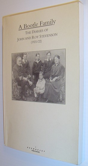 Image for A Bootle family: The diaries of John and Roy Stevenson (1921/22)