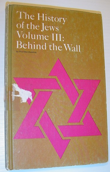 Image for The History of the Jews: Behind the Wall - Volume III (3) - The Story of the Ghetto