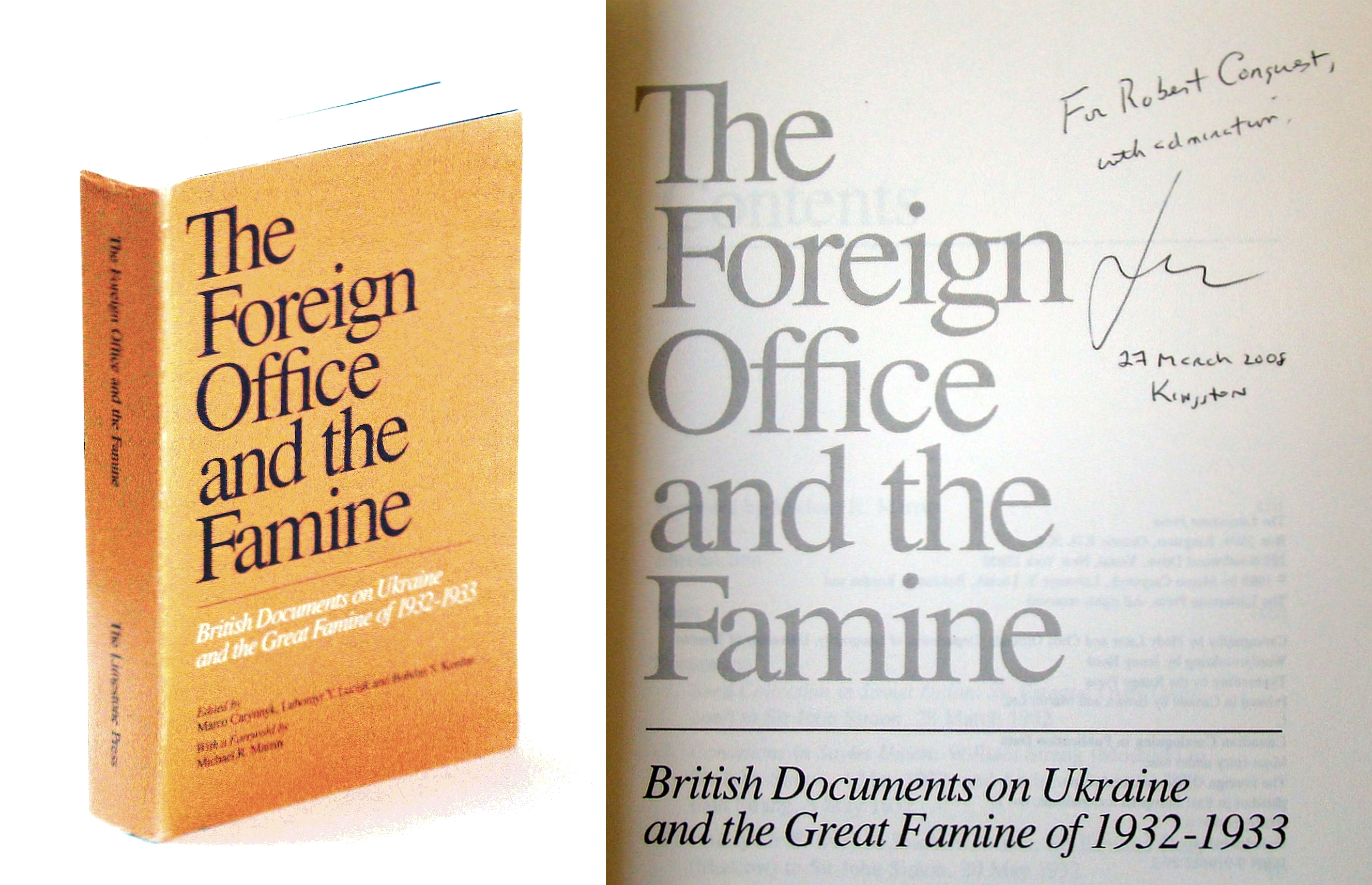 Image for The Foreign Office and the famine: British documents on Ukraine and the great famine of 1932-1933