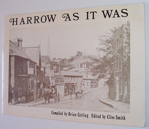 Image for Harrow as it Was