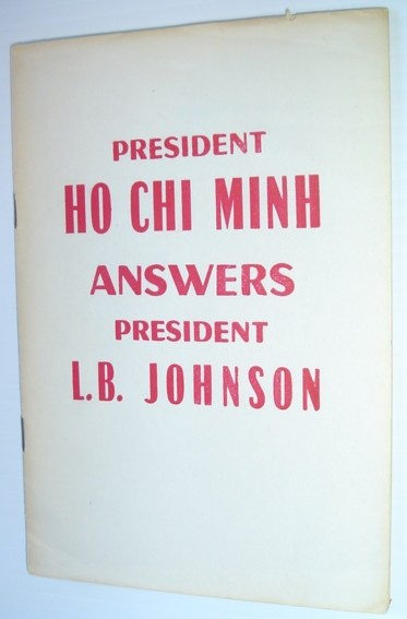 Image for Ho Chi Minh Answers President L.B. Johnson