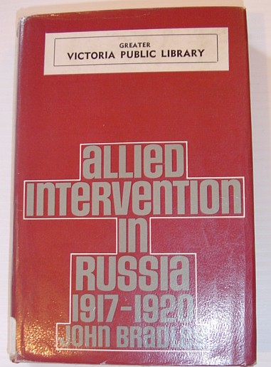 Image for Allied Intervention in Russia