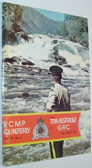 Image for Royal Canadian Mounted Police (RCMP) Quarterly - July 1974, Vol. 39, No. 3