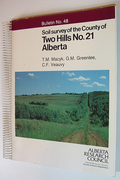 Image for Soil Survey of the County of Two Hills No. 21 Alberta - Bulleting No. 48 - Alberta Soil Survey Report No. 35