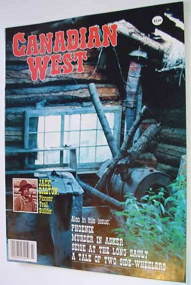 Image for Canadian West Magazine - Fall 1990