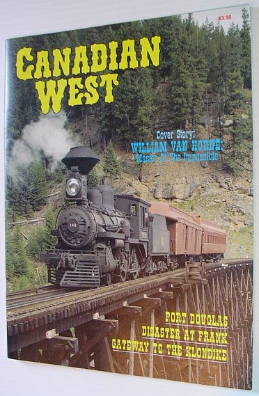 Image for Canadian West Magazine - Spring 1988