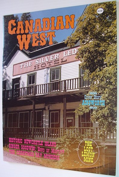 Image for Canadian West Magazine - Fall 1988