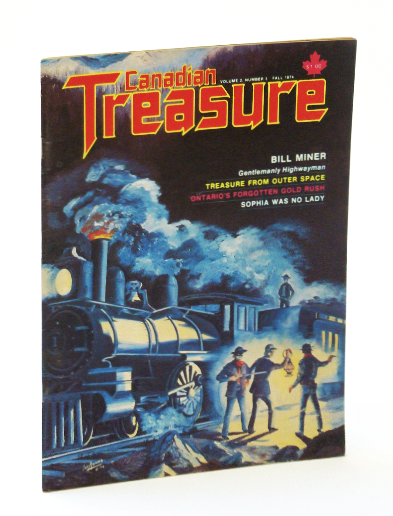 Image for Canadian Treasure Magazine - True Stories on Lost, Sunken and Buried Treasure - Volume 2, Number 3 (Collector's No. 6), Fall 1974