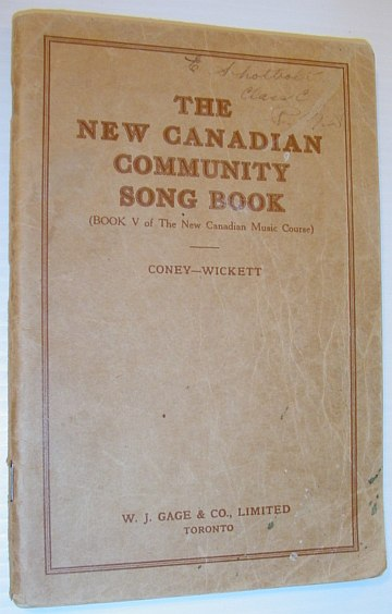 Image for The New Canadian Music Course - a Sight-Singing Course for the Use of Schools: Book Five (5)