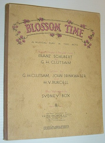 Image for Blossom Time - A Musical Play in Two Acts: