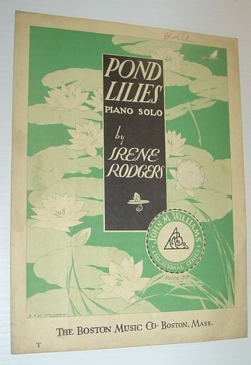 Image for Pond Lilies - Sheet Music for Piano Solo