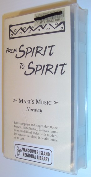 Image for From Spirit to Spirit: Mari's Music - Norway: 24 Minute VHS Video Tape in Case