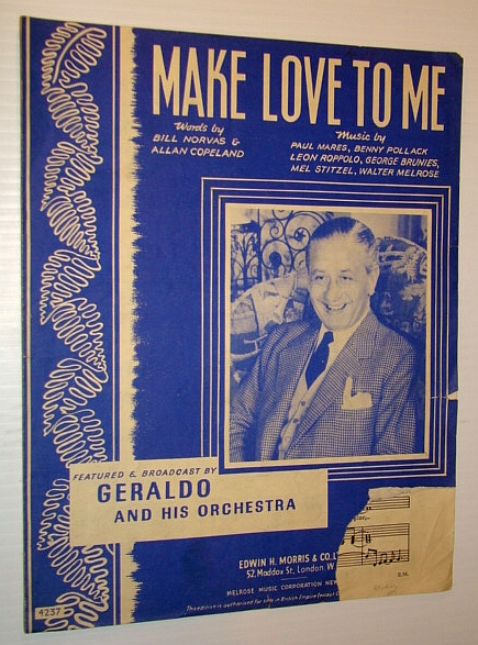 Image for Make Love To Me! - Sheet Music for Piano and Voice with Ukulele Chords