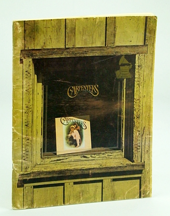 Image for Carpenters: songbook of the 1971 self-titled album (piano/vocal/guitar)