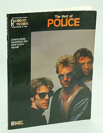 Image for The Best of Police: Guitar Recorded Versions with Notes and Tab