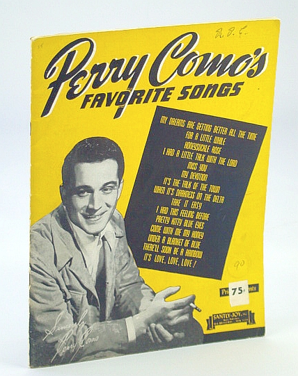 "Image for Perry Como....""Perry Como's Favorite Songs""....Songbook"