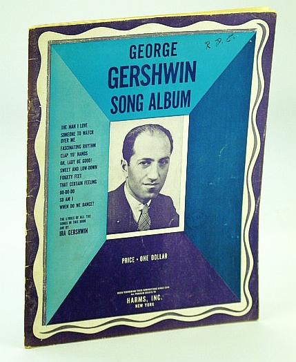 Image for George Gershwin Song Album. 1938. Paper.