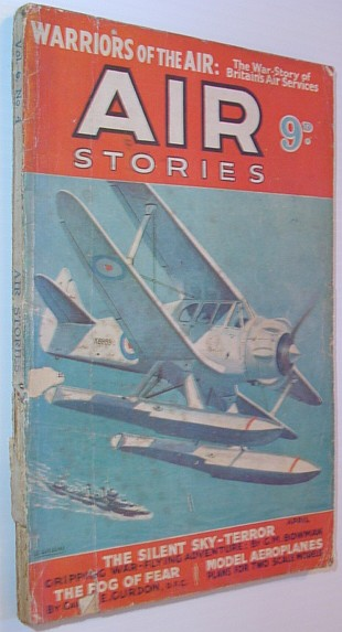 Image for Air Stories - Flying Thrills and Aerial Adventure: July 1936, Vol. 3, No. 1