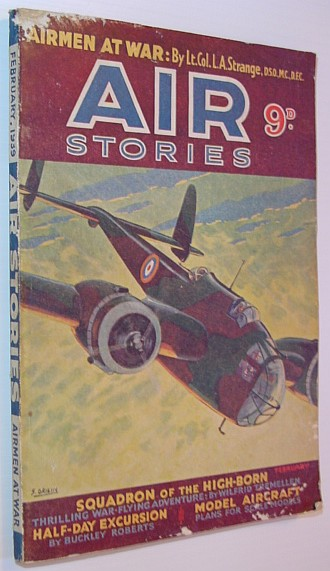 Image for Air Stories - Aerial Adventure in Fact and Fiction: February 1939, Vol. 8, No. 2